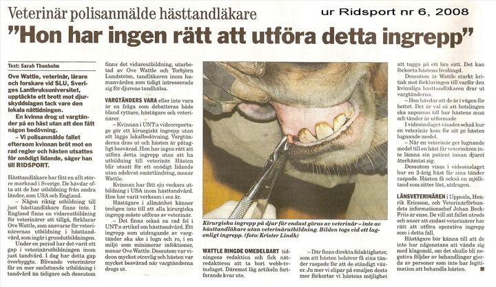 hästtandläkare västra götaland